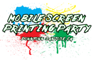 Screenprintingparty